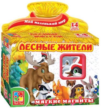 Магнитная игра развивающая Vladi toys Лесные жители VT3101-04