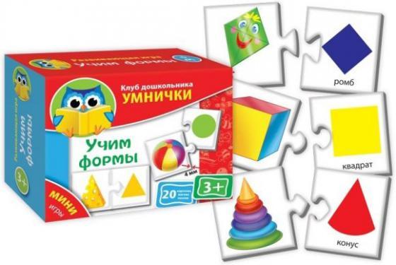 Настольная игра развивающая Vladi toys Учим формы VT1309-01 цены