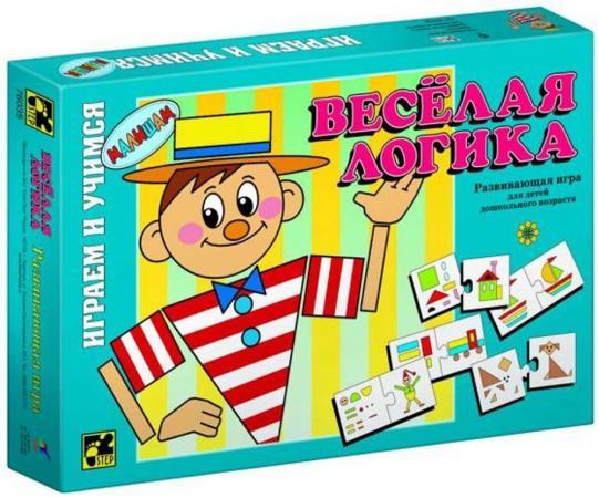 Настольная игра логическая Step Puzzle Веселая логика 76035