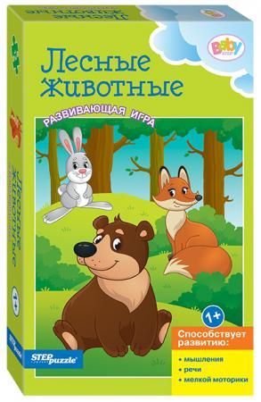 Настольная игра развивающая Step Puzzle Лесные животные  76186 11 idei kotorye kazalis bezymnymi no srabotali