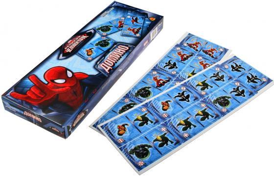 Настольная игра домино Step Puzzle Человек-паук настольная игра домино step puzzle маша и медведь