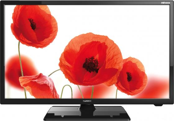 "Телевизор 24"" Telefunken TF-LED24S48T2 черный 1366x768 50 Гц USB HDMI VGA S/PDIF"