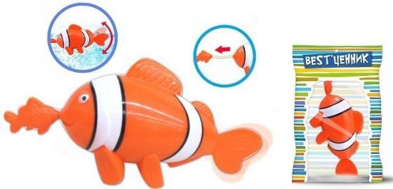 Заводная игрушка для ванны S+S TOYS Рыбка 100795035 игрушки для ванны tolo toys набор ведерок квадратные