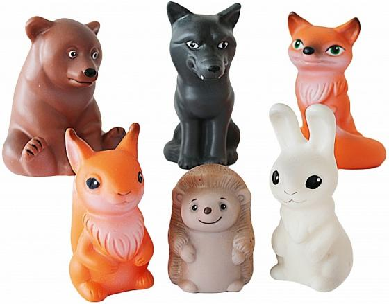 Фото - Набор игрушек ВЕСНА Животные леса 8.5 см В885 полесье набор игрушек для песочницы 468 цвет в ассортименте
