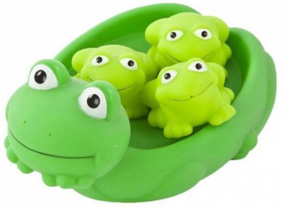 Игрушка для купания для ванны Жирафики Мама лягушка и лягушата игрушки для ванны жирафики набор для купания черепашка и пингвин