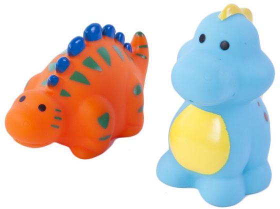Набор игрушек для ванны Жирафики Динозаврики 681274 игрушки для ванны жирафики набор для купания черепашка и пингвин