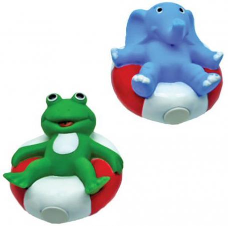 Игрушка для купания для ванны Жирафики Лягушонок и слоник 681276