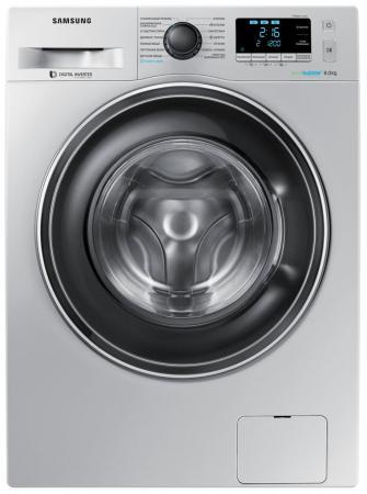 Стиральная машина Samsung WW80K62E07SDLP серебристый стиральная машина bomann wa 5716