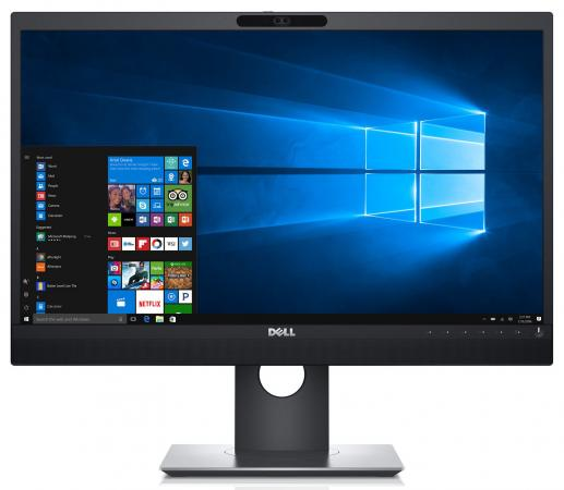 Монитор DELL P2418HZ черный IPS 1920x1080 250 cd/m^2 6 ms HDMI DisplayPort VGA Аудио USB монитор 25 dell up2516d черный ah ips 2560x1440 300 cd m^2 6 ms hdmi displayport mini displayport аудио usb