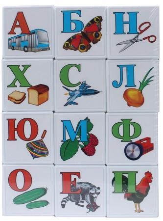 Кубики СТЕЛЛАР Азбука для самых маленьких 12 шт 00702 кубики стеллар азбука 12 шт 704