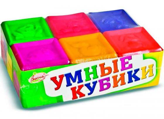 Кубики ВЕСНА Умные кубики 6 шт В1729