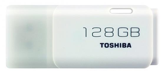 цена на Флешка USB 128Gb Toshiba TransMemory U202 THN-U202W1280E4 белый