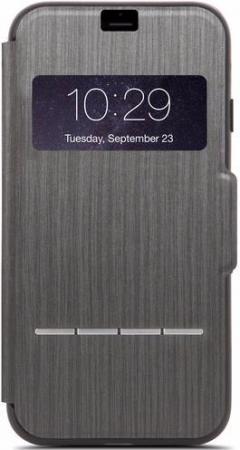 Чехол Moshi SenseCover для iPhone 7 Plus чёрный 99MO072009 чехол книжка moshi sensecover для apple iphone 6 plus 6s plus