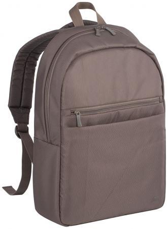 Рюкзак для ноутбука 15.6 Riva case 8065 полиэстер синтетика хаки рюкзак rivacase riva case 7560