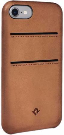 Накладка Twelve South Relaxed with pockets для iPhone 7 коричневый 12-1644 чехол накладка twelve south relaxed для iphone 7 материал натуральная кожа цвет светло коричневый