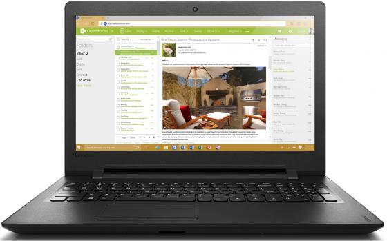 Ноутбук Lenovo IdeaPad 110-15AST 15.6 1366x768 AMD A9-9400 500 Gb 4Gb Radeon R5 черный Windows 10 80TR000GRK ноутбук lenovo ideapad 110 17acl