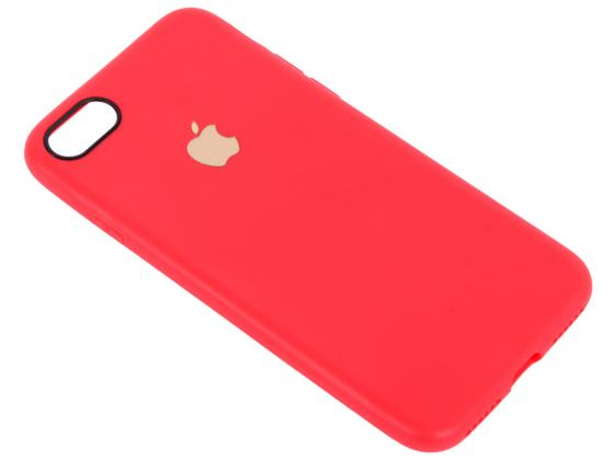 Чехол для смартфона iPhone 7 Leather TPU Case (красный) 0L-00029826 tpu imd patterned gel cover for iphone 7 4 7 inch dream catcher