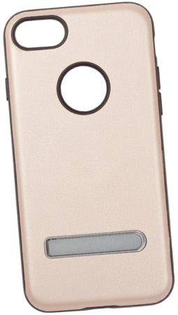 Накладка LP HOCO Simple Series Pago Bracket Cover для iPhone 7 золотой 0L-00029278 накладка lp клетка с полосками для iphone 7 золотой 0l 00029551