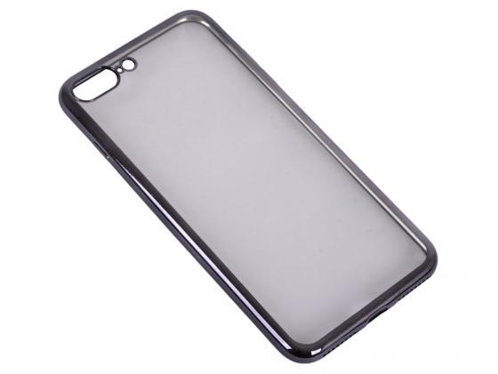 Накладка DF iCase-09 для iPhone 7 Plus чёрный все цены