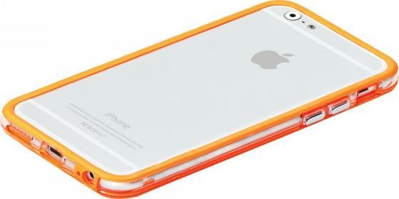 Накладка Promate Bump-i6 для iPhone 6 оранжевый promate cloud i6 чёрный