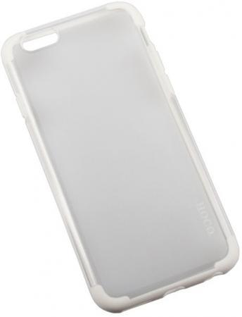 Бампер для iPhone 6/6s HOCO Steel Series Double Color PC + TPU Case (белый) R0007527 аксессуар чехол накладка hoco steel series double color для apple iphone 6 plus golden