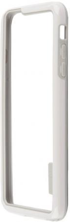 Бампер LP HOCO Coupe Series Double Color Bracket для iPhone 6S Plus 6 белый R0007620
