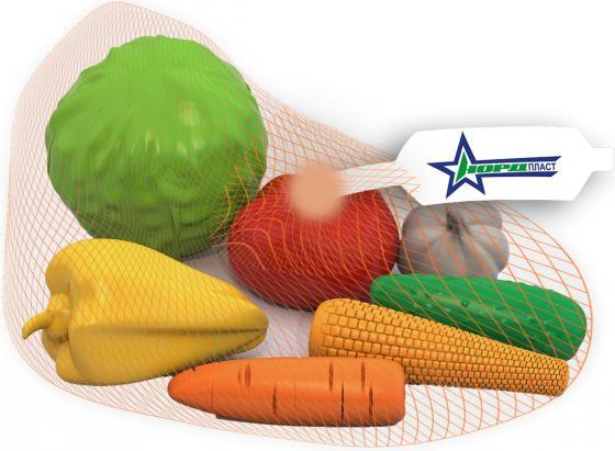 Набор овощей Нордпласт 7 предметов 434 набор нордпласт фрукты овощи 13 предметов 437