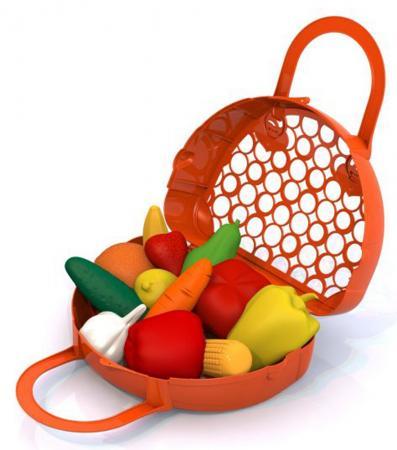 Набор фруктов Нордпласт Фрукты и овощи в корзинке 440 набор фруктов dohany овощи фрукты в корзине большая 715