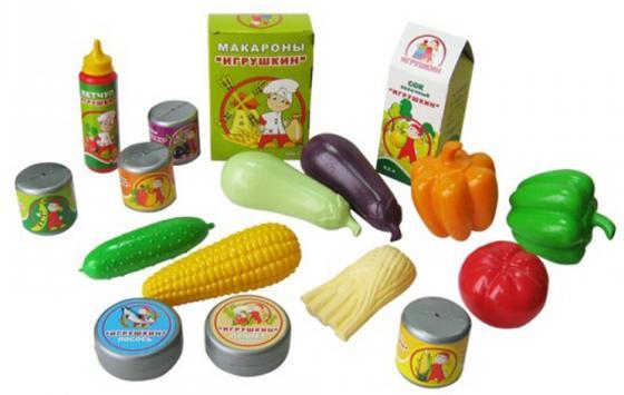 Набор продуктов Пластмастер Скатерть-самобранка 21022 пластмастер игрушечный набор монтажник