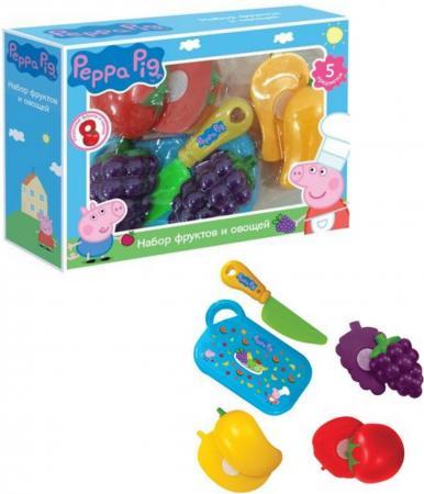 Набор фруктов и овощей Росмэн Peppa Pig  29888 росмэн игровой набор самолет peppa pig