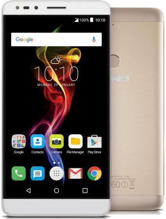 """Смартфон Alcatel OneTouch 7070 POP 4-6 золотистый 6"""" 16 Гб Wi-Fi GPS 3G LTE стоимость"""