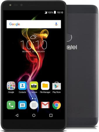 "Смартфон Alcatel OneTouch 7070 POP 4-6 графит 6"" 16 Гб Wi-Fi GPS 3G LTE"