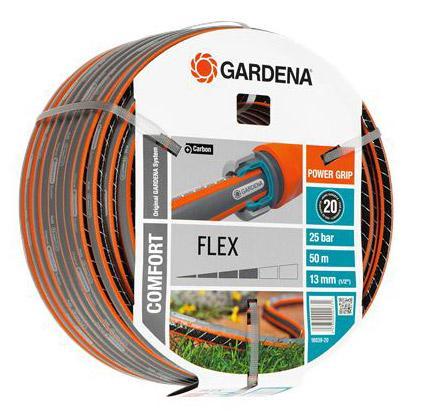 Шланг Gardena Flex 1/2 50м 18039-22.000.00 шланг gardena flex 9x9 18039 20 000 00 1 2 50м