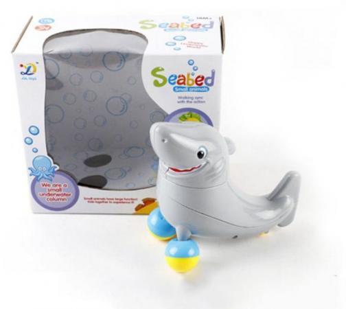 Интерактивная игрушка Shantou Gepai Акула от 3 лет серый 8825
