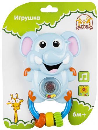 Развивающая игрушка Жирафики Слоник 628920 (свет, звук)