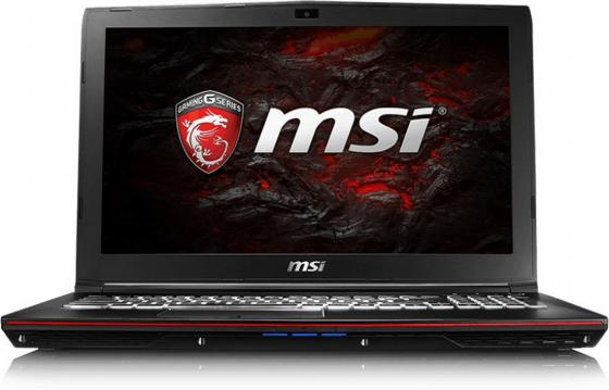 Ноутбук MSI GP62 7RE-659RU Leopard Pro 15.6 1920x1080 Intel Core i7-7700HQ 1 Tb 8Gb nVidia GeForce GTX 1050Ti 2048 Мб черный Windows 10 Home 9S7-16J942-659