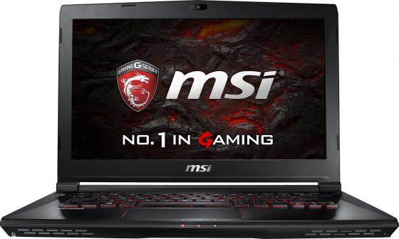 Ноутбук MSI GS43VR 7RE-094RU Phantom Pro 14 1920x1080 Intel Core i5-7300HQ 1 Tb 128 Gb 16Gb nVidia GeForce GTX 1060 6144 Мб черный Windows 10 Home 9S7-14A332-094 ноутбук msi gs43vr 7re 202xru phantom pro 9s7 14a332 202