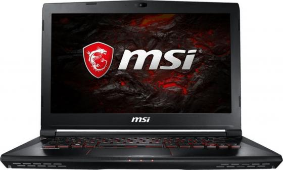 Ноутбук MSI GS43VR 7RE-202XRU Phantom Pro 14 1920x1080 Intel Core i5-7300HQ 1 Tb 16Gb nVidia GeForce GTX 1060 6144 Мб черный DOS 9S7-14A332-202 ноутбук msi gs43vr 7re 201ru phantom pro 14 1920x1080 intel core i7 7700hq 9s7 14a332 201