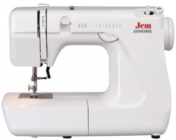 Швейная машина Janome Jem белый janome 2055 белый зеленый
