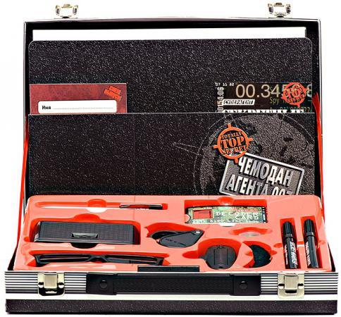 Игровой набор FANTASTIC Чемодан агента 007 13 предметов головоломки fantastic игровой набор чемодан головоломок