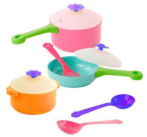 Купить Набор посуды Mary Poppins Цветок 39329, Игровая посуда