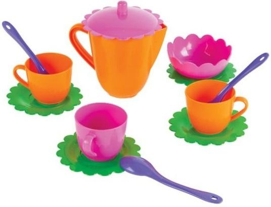 Купить Чайный набор Mary Poppins Цветок, 13 предметов 39326, Игровая посуда
