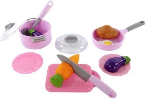 Набор посуды Mary Poppins Учимся готовить 453033 посуда и наборы продуктов mary poppins набор посуды mary poppins в сумке