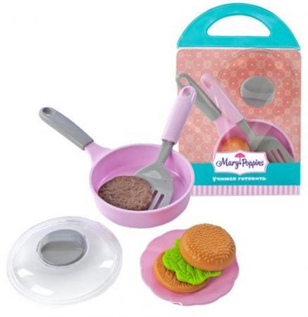 Набор посуды для готовки Mary Poppins Учимся готовить 453035 ролевые игры mary poppins набор посуды для готовки 453030