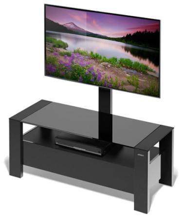 Тумба для телевизора Holder TV-34110 черный 32-65 holder leds 7021 для 32 65 черный глянец
