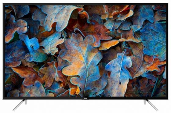 Телевизор LED 55 TCL LED55D2930US черный 3840x2160 60 Гц Wi-Fi Smart TV VGA RJ-45 USB телевизор led 40 bbk 40lex 5027 t2c черный 1366x768 50 гц wi fi smart tv vga rj 45