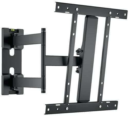 Кронштейн Holder LCD-SU4601-B черный для ЖК ТВ 26-50 настенный от стены 65-550мм наклон +15/-15° VESA 400x400 до 35 кг