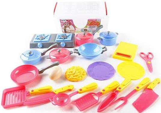 Набор посуды Shantou Gepai Кухня, 20 предметов 606-2 кухня shantou gepai как у мамы голубая