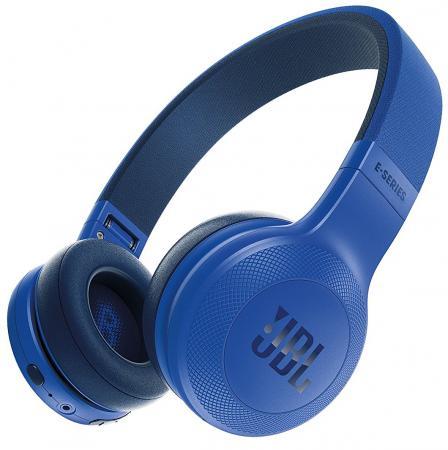 Гарнитура JBL E45BT синий JBLE45BTBLU гарнитура jbl t280a silver
