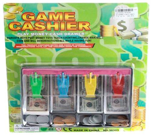 Лоток для денег Shantou Gepai Game Cashier №2 ассортимент 30303U майзингер р банкноты мира скрытые знаки бумажных денег